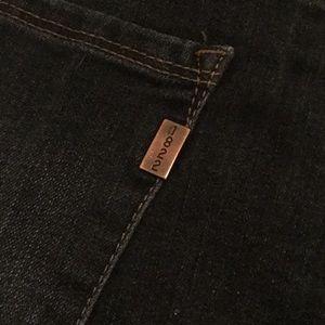 1822 Denim cuff jeans, dark wash